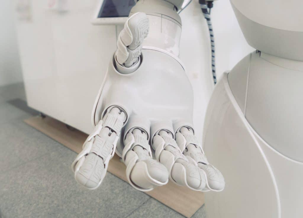 Artificial Intelligence Statistics - Robot hand