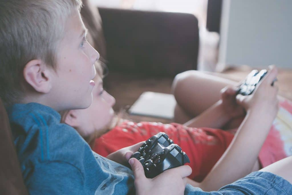 How Many People Play Video Games - Kids Playing Video Games