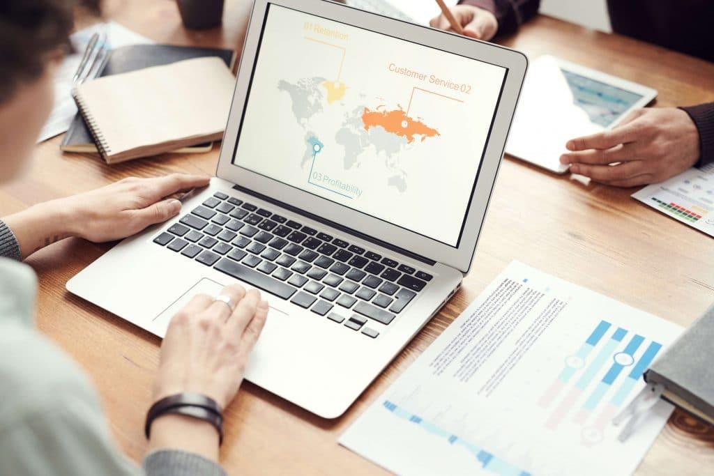 CRO Statistics - A Person Using Laptop